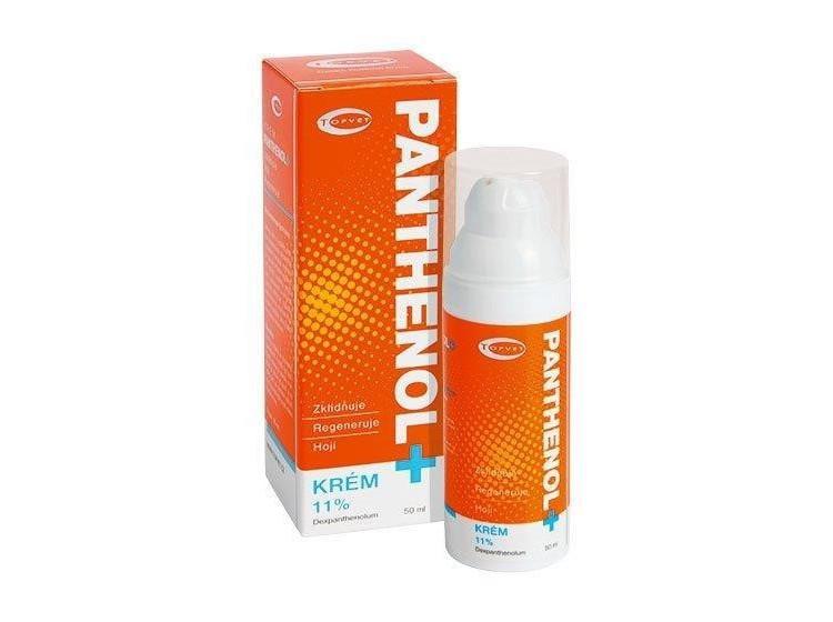 Panthenol 11% tělový krém 50 ml